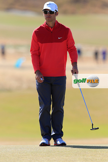 Paul CASEY (ENG) on the 5th green during Friday's Round 2 of the 2015 U.S. Open 115th National Championship held at Chambers Bay, Seattle, Washington, USA. 6/19/2015.<br /> Picture: Golffile | Eoin Clarke<br /> <br /> <br /> <br /> <br /> All photo usage must carry mandatory copyright credit (&copy; Golffile | Eoin Clarke)