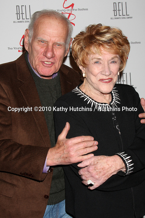 Michael Fairman  & Jeanne Cooper.arrivng at The Young & The Restless 37th Anniversary Dinner.Via Allorro.Beverly Hills, CA.March 9, 2010.©2010 Kathy Hutchins / Hutchins Photo....