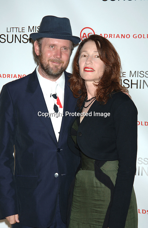 """The Directors Jonathan Dayton and wife Valerie Faris ..at The New York Premiere of """"Little Miss Sunshine"""" starring ..Greg Kinnear, Toni Collette and Abigail Breslin on July 25, 2006 at The AMC LoewsLincoln Theatre. ..Robin Platzer, Twin Images"""