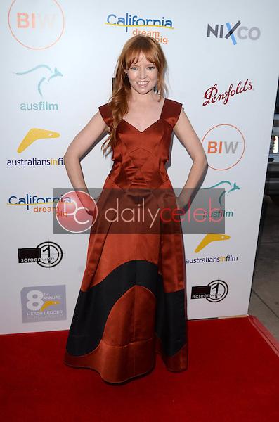 Stef Dawson<br /> at the 2016 Australians In Film Heath Ledger Scholarship Dinner, Mr. C, Beverly Hills, CA 06-01-16<br /> David Edwards/Dailyceleb.com 818-249-4998
