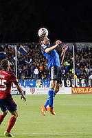 Santa Clara, California - April 26, 2014: The San Jose Earthquakes face off against Chivas USA at Buck Shaw Stadium on Saturday.