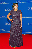 NBC News White House correspondent Kristen Welker arrives for the 2017 White House Correspondents Association Annual Dinner at the Washington Hilton Hotel on Saturday, April 29, 2017.<br /> Credit: Ron Sachs / CNP