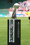 18 November 2007: The Alan I. Rothenberg trophy. The Houston Dynamo defeated the New England Revolution 2-1 at RFK Stadium in Washington, DC in MLS Cup 2007, Major League Soccer's championship game.