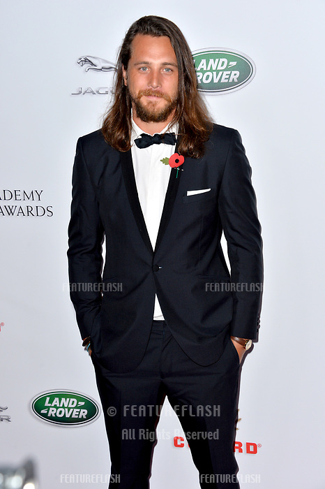BEVERLY HILLS, CA. October 26, 2018: Ben Robson at the 2018 British Academy Britannia Awards at the Beverly Hilton Hotel.<br /> Picture: Paul Smith/Featureflash