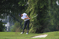 Paul Waring (ENG) in the rough on the 2nd during Round 1 of the Maybank Championship at the Saujana Golf and Country Club in Kuala Lumpur on Thursday 1st February 2018.<br /> Picture:  Thos Caffrey / www.golffile.ie<br /> <br /> All photo usage must carry mandatory copyright credit (&copy; Golffile | Thos Caffrey)