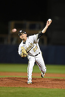 Vanderbilt Commodores pitcher Philip Pfeifer (22) delivers a pitch during a game against the Indiana State Sycamores on February 20, 2015 at Charlotte Sports Park in Port Charlotte, Florida.  Vanderbilt defeated Indiana State 3-2.  (Mike Janes/Four Seam Images)