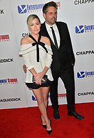 Kathleen Robertson &amp; Chris Cowles at the premiere for &quot;Chappaquiddick&quot; at the Samuel Goldwyn Theatre, Los Angeles, USA 28 March 2018<br /> Picture: Paul Smith/Featureflash/SilverHub 0208 004 5359 sales@silverhubmedia.com