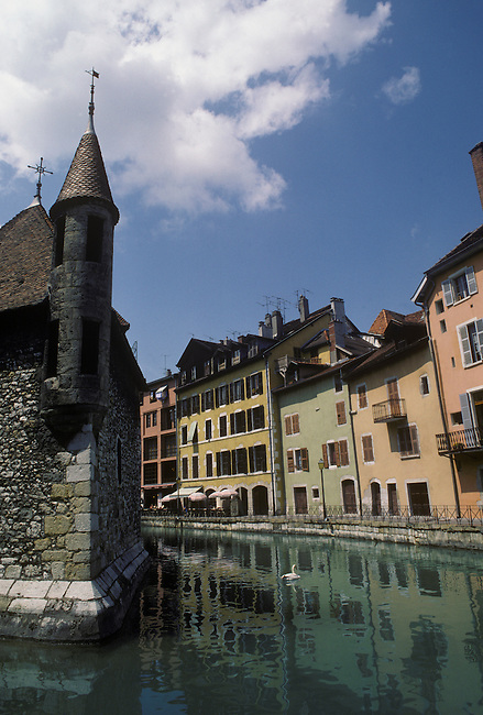CANALS of HISTORIC OLD CITY ANNECY - ALPS REGION, FRANCE