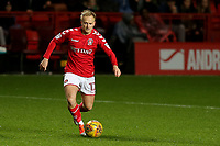 Ben Reeves of Charlton Athletic in action during Charlton Athletic vs Portsmouth, Checkatrade Trophy Football at The Valley on 7th November 2017