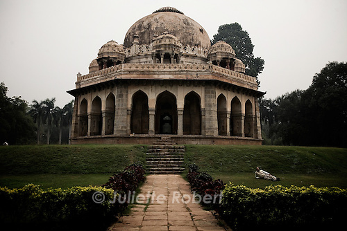 The Mughal Tombs in Lodi Gardens in Delhi, India