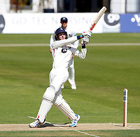 Zac Crawley bats for Kent during the Specsavers County Championship Div 2 game between Kent and Sussex at the St Lawrence Ground, Canterbury, on May 11, 2018