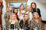 Mandy Colbert from Tralee celebrating her birthday in Bella Bia on Saturday night.<br /> Seated l-r, Richeal Goram, Mandy Colbert and Maresa Locke.<br /> Back l-r, Evonne Flavin, Amy Kennelly, Jade Burke, Stacy Donovan and Clara McGee.