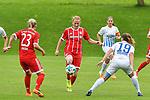 12.08.2017, Sportplatz, Hawangen, GER, FSP, Bayern M&uuml;nchen vs FC Z&uuml;rich Frauen, im Bild Mandy Islacker (Muenchen #23), Melanie Behringer (Muenchen #7), Sandrine Mauron (Zuerich #19)<br /> <br /> Foto &copy; nordphoto / Hafner