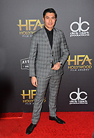 LOS ANGELES, CA. November 04, 2018: Henry Golding at the 22nd Annual Hollywood Film Awards at the Beverly Hilton Hotel.<br /> Picture: Paul Smith/FeatureflashLOS ANGELES, CA. November 04, 2018: Wendy Starland at the 22nd Annual Hollywood Film Awards at the Beverly Hilton Hotel.<br /> Picture: Paul Smith/FeatureflashLOS ANGELES, CA. November 04, 2018: Henry Golding at the 22nd Annual Hollywood Film Awards at the Beverly Hilton Hotel.<br /> Picture: Paul Smith/Featureflash