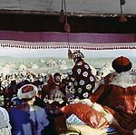 "Filmstill ""Gontsy speshat"" (1980), USSR, KAZ; Director: Azerbayzhan Mambetov; Stars: Almira Ismailova, Jambul Khudaibergenov; / Кадр из фильма ""Гонцы спешат"" (1980), СССР; Режиссер: Азербайжан Мамбетов; В ролях: Альмира Исмаилова, Джамбул Худайбергенов. Казахфильм."