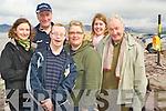 Enjoying the Hospice walk on Rossbeigh beach on Friday morning were Belinda Lynch, John Moriarty, John Paul Doyle, Kathleen Lyons, Bernadette O'Connor and  Eoin Spillane..... ..........................