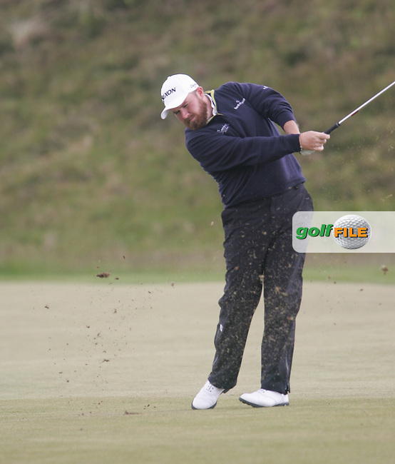 Shane LOWRY (IRL) on the 9th fairway during round 3 of the 2015 Dubai Duty Free Irish Open hosted by the Rory Foundation, Royal County Down Golf Club, Newcastle Co Down, Northern Ireland. 30/05/2015<br /> Picture TJ Caffrey, www.golffile.ie