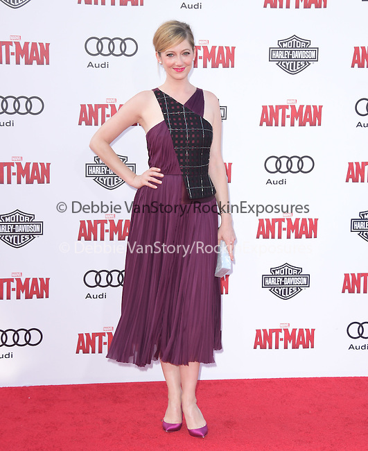 """Judy Greer attends The Premiere Of Marvel's """"Ant-Man"""" held at The Dolby Theatre  in Hollywood, California on June 29,2015                                                                               © 2015 Hollywood Press Agency"""