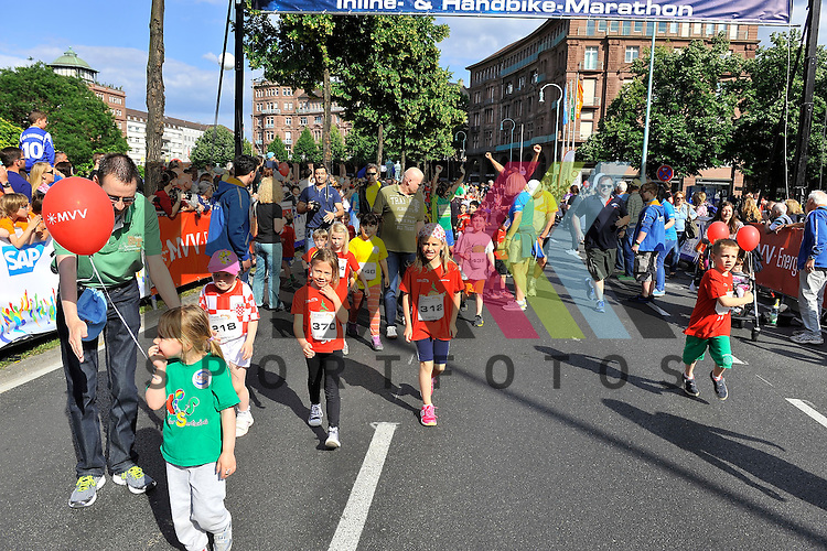 MVV Bambini Lauf beim SAP Arena Marathon 31.05.2014.<br /> <br /> Foto &copy; Rhein-Neckar-Picture *** Foto ist honorarpflichtig! *** Auf Anfrage in hoeherer Qualitaet/Aufloesung. Belegexemplar erbeten. Veroeffentlichung ausschliesslich f&uuml;r journalistisch-publizistische Zwecke.