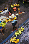 Banana seller, Dili, Democratic Republic of Timor-Leste.