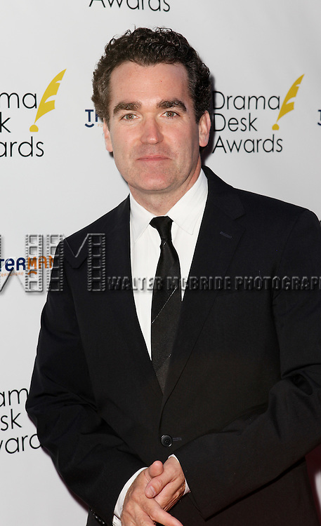 Brian d'Arcy James pictured at the 57th Annual Drama Desk Awards held at the The Town Hall in New York City, NY on June 3, 2012. © Walter McBride