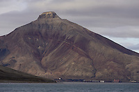 Pyramiden abandoned Russian mining settlement on Spitzbergen Arctic Norway