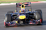 Mark Webber (2) driver of the Red Bull Racing Renault in action during the Formula 1 United States Grand Prix practice session at the Circuit of the Americas race track in Austin,Texas. The Formula 1 United States Grand Prix will take place on 18 November 2012....