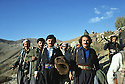 Iran 1979.Peshmergas on their way to the headquarters of KDPI
