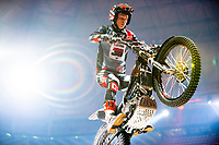 2nd February 2020; Palau Sant Jordi, Barcelona, Catalonia, Spain; X Trail Mountain Biking Championships; Gabriel Marcelli (Spain) of the Montesa Team in action during the X-Trail indoor Barcelona