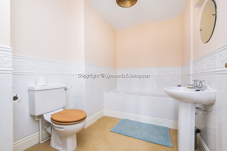 BNPS.co.uk (01202 558833)<br /> Pic: Symonds&Sampson/BNPS<br /> <br /> Bathroom. <br /> <br /> A charming home which features in a Thomas Hardy novel has emerged on the market for £500,000.<br /> <br /> Grade II listed Stinsford House, in the idyllic village of Stinsford, Dorset, is referenced in the writer's 1872 novel 'Under The Greenwood Tree'.<br /> <br /> It is believed that the tree in the courtyard is the one Hardy wrote about in the romantic tale.<br /> <br /> Hardy was very attached to the village which is on the outskirts of the market town of Dorchester. He was baptised at St Michael's Church in the village and his church group is thought to have performed at the 17th century property every Christmas Eve. Following his death in 1928, his second wife fulfilled Hardy's request for his heart to be buried at St Michael's Church, while his ashes were interred at 'Poets Corner' in Westminster Abbey.<br /> <br /> The property is being sold with estate agent Symonds & Sampson.