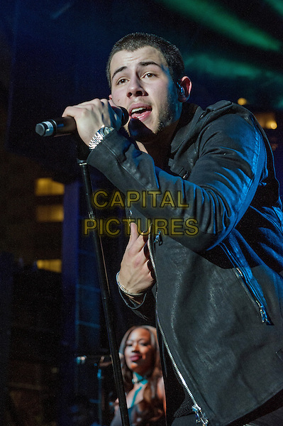 13 June 2015 - Pittsburgh, Pennsylvania - Singer, songwriter and actor NICK JONAS performs as the headlining performer at the Pittsburgh Gay Pride Festival 2015. <br /> CAP/ADM/JN<br /> &copy;Jason L Nelson/AdMedia/Capital Pictures