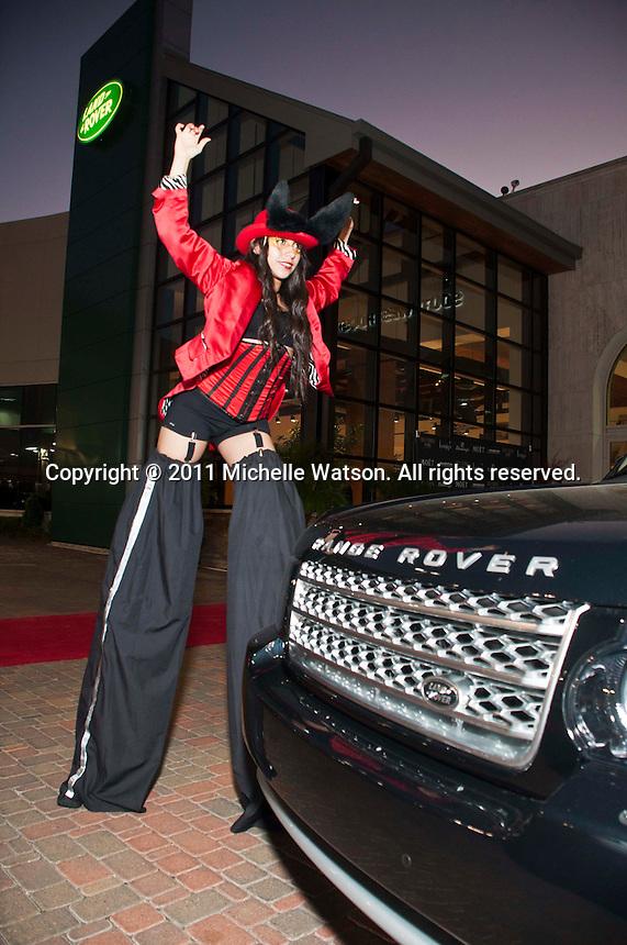 Range Rover Evoque Launch Party