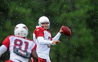 Jul 31, 2009; Flagstaff, AZ, USA; Arizona Cardinals quarterback (3) Tyler Palko during training camp on the campus of Northern Arizona University. Mandatory Credit: Mark J. Rebilas-