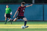 STANFORD, CA - August 19, 2014: Bobby Edwards during the Stanford vs CSU Bakersfield men's exhibition soccer match in Stanford, California.  Stanford won 1-0.
