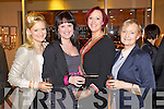 Pictured at Kerry Fashion Weekend Fashion Show on Friday night in the Carlton hotel, Tralee, were l-r: Sheila Galwey (Castleisland) Rita Galwey (Castleisland) Gretta O'Connell (Castleisland) and Breda Galwey (Castleisland).