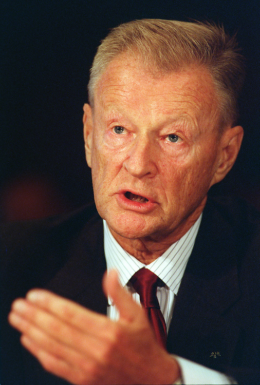 10/09/97.NATO EXPANSION--Zbigniew Brzezinski, of the Center for Strategic and International Studies, testifies before the Foreign Relations Committee on whether to enlarge NATO. .CONGRESSIONAL QUARTERLY PHOTO BY SCOTT J. FERRELL
