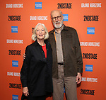 "Jane Alexander and James Cromwell during the Second Stage Theater presents ""Grand Horizons"" at the Marquis Hotel on December 11, 2019 in New York City."