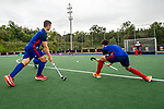 Barcelona, Spain, October 05: During the training session of Mannheimer HC at the EHL KO16 on October 5, 2019 at Pau Negre in Barcelona, Spain. (Copyright Dirk Markgraf / 265-images.com) ***