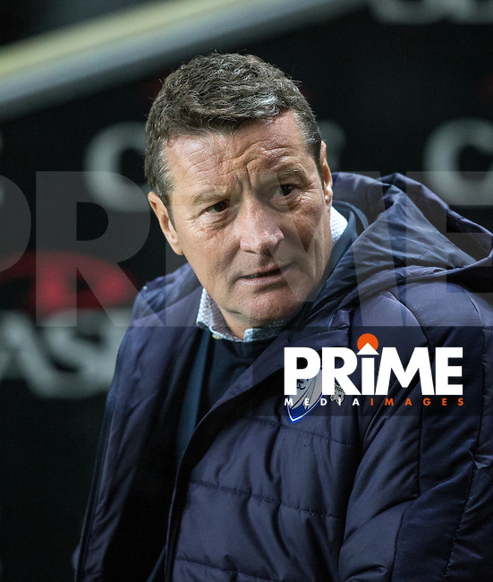 Chesterfield Manager Danny Wilson during the Sky Bet League 1 match between MK Dons and Chesterfield at stadium:mk, Milton Keynes, England on 22 November 2016. Photo by Andy Rowland.