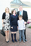 Nicole Dornan and family at Donacarney NS Confirmation in The Star of the Sea Church...Photo NEWSFILE/Jenny Matthews.(Photo credit should read Jenny Matthews/NEWSFILE)....This Picture has been sent you under the condtions enclosed by:.Newsfile Ltd..The Studio,.Millmount Abbey,.Drogheda,.Co Meath..Ireland..Tel: +353(0)41-9871240.Fax: +353(0)41-9871260.GSM: +353(0)86-2500958.email: pictures@newsfile.ie.www.newsfile.ie.FTP: 193.120.102.198.