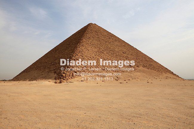 North Pyramid of Snefuru - Dashur, Egypt