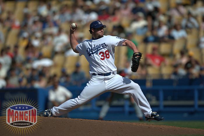 Eric Gagne. Cincinnati Reds vs Los Angeles Dodgers. Los Angeles, CA 5/16/2004 MANDATORY CREDIT: Brad Mangin