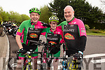 John Herlihy, Joan McCarthy, Brendan O'Neill and David Wallace from the Killarney cycling club ready to cycle the Down Syndrome Ireland cycle fundraiser at the Ballyseedy Garden Centre on Saturday morning
