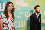 Paul Wesley & girlfriend Phoebe Tonkin - Vampire Diaries & Guiding Light and The Originals - The CW Upfront - Red Carpet Arrivals on May 19, 2016 at t he London Hotel, New York City, New York. (Photo by Sue Coflin/Max Photos)
