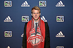 January 17th, 2013: #3 draft pick Kyle Bekker, selected by Toronto FC. The 2013 MLS SuperDraft was held during the NSCAA Annual Convention held in Indianapolis, Indiana.