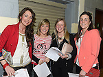 Andrea Carney, Bronagh McGrane, Michelle McArdle and Annmarie Lynch pictured at The Cube in Ardee Parish Centre. Photo:Colin Bell/pressphotos.ie