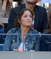 FLUSHING NY- SEPTEMBER 9: Minka Kelly is sighted watching Serena Williams Vs Victoria Azarenka in the Womens  finals on Arthur Ashe Stadium at the USTA Billie Jean King National Tennis Center on September 9, 2012 in in Flushing Queens. Credit: mpi04/MediaPunch Inc. ***NO NY NEWSPAPERS*** /NortePhoto.com<br />