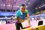 General view,<br /> AUGUST 30, 2018 - Sepak takroae : <br /> Women's Quadrant match between Japan - Vietnam<br /> at Jakabaring Sport Center Ranau Hall <br /> during the 2018 Jakarta Palembang Asian Games <br /> in Palembang, Indonesia. <br /> (Photo by Yohei Osada/AFLO SPORT)
