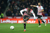 Josh DaSilva of Brentford in action during Brentford vs Oxford United, Emirates FA Cup Football at Griffin Park on 5th January 2019
