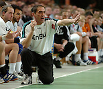 Handball Herren, 1.Bundesliga 2003/2004 Goeppingen (Germany) FrischAuf! Goeppingen - Wilhelmshavener HV (25:27)